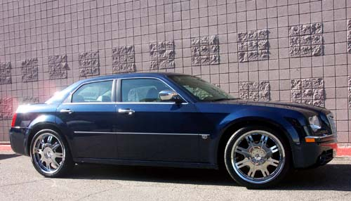 chrysler 300c rim. 2005 Chrysler 300C on 22quot; TSW